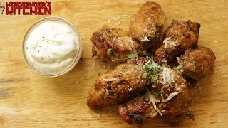Garlic Parmesan Chicken Wings  Keto Recipes  Headbangers Kitchen