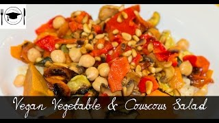 Vegan Roasted Vegetable And Couscous Salad Recipe