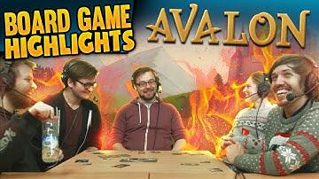 Board Game Highlights! #1 - Avalon: Nobody Trusts Trott