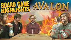 Board Game Highlights! #1 - Avalon: Nobody Trusts Trott