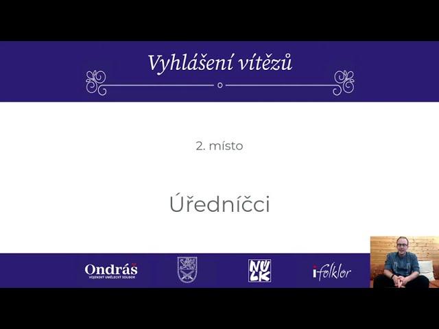 Folklorní kvíz s Ondrášem - Vyhlášení výsledků