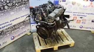 Контрактный двигатель что это? Mercedes W124 2.0 D 601.912 бу - тест ок