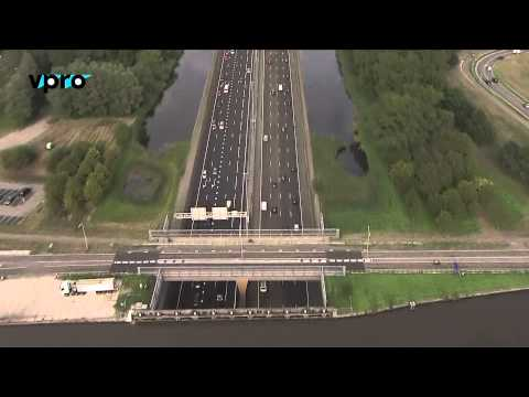 special: the Netherlands from above: roads