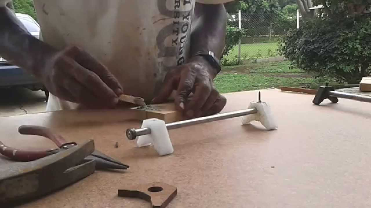Shop made planer knife setting jig youtube