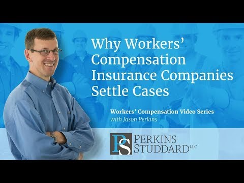 Why Workers' Compensation Insurance Companies Settle Cases