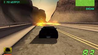 "Knight Rider: The Game 2 PC GAMEPLAY Mission 3- ""The Chopper"""