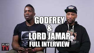 Lord Jamar & Godfrey on Pusha T, Blac Chyna, Tekashi 6ix9ine (Full Interview)