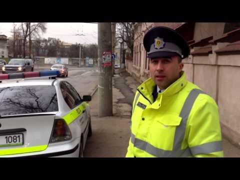Poliția rutieră  amendează pe cei de la țară
