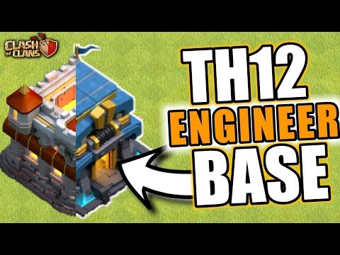 TH12 ENGINEER BASE IN CLASH OF CLANS