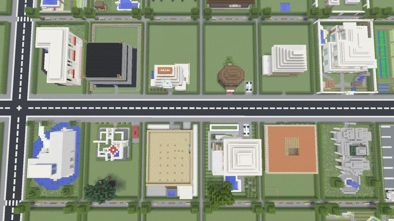 Minecraft city of the community großes projekt häuser rundgang teil 4 deutsch ps4 youtube