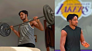I GOT TRADED TO THE LAKERS WITH LEBRON! WORKING OUT FOR MY NEW TEAM! - NBA 2K19 MyCAREER
