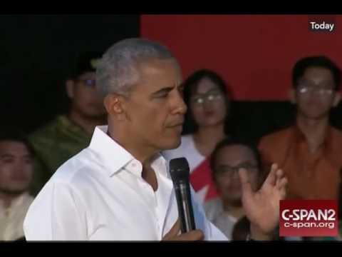 Obama Glosses Over DAPL Question And Dismisses Audience Member