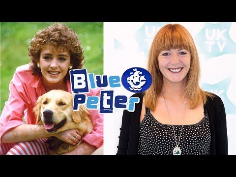Presenters Of Blue Peter Then And Now 2017