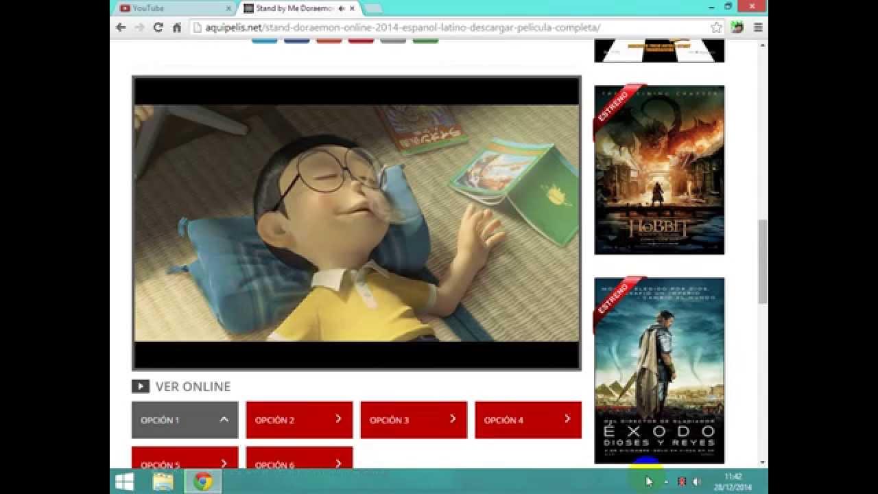 ver la pelicula completa en español stand by me Doraemon - quedate conmigo  y a como descargarla - YouTube