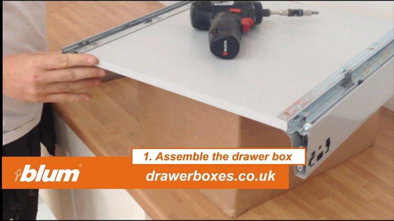Blum Tandembox Antaro - shallow replacement kitchen drawer ...