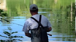 Pêche au lac de Lamontjoie juin 2016