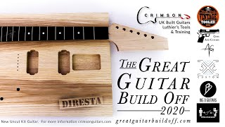Kicking off the Great Guitar Build Off 2020 Challenge and YOU can enter too! The prize is a DOOZY!