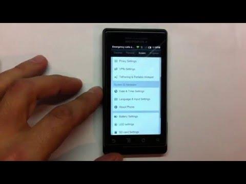 MIUI 1.4.29 on Motorola Milestone