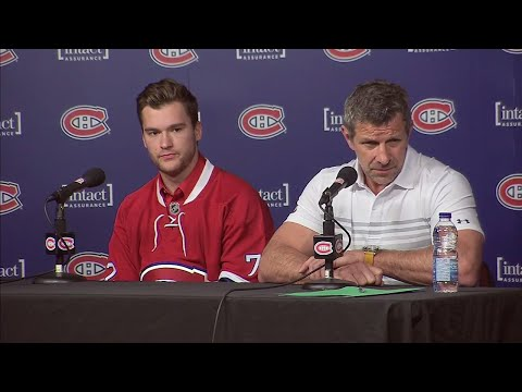 Bergevin on how trade happened, why he wanted Drouin