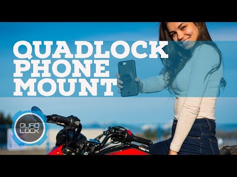 QuadLock Product Review (The Best Motorcycle Phone Mount!)