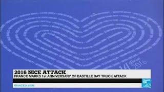 Nice truck attack commemoration: