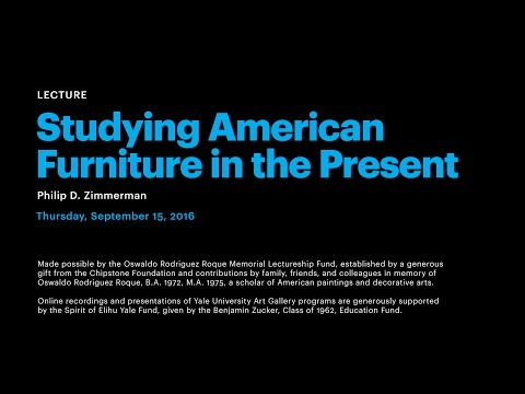 Studying American Furniture in the Present