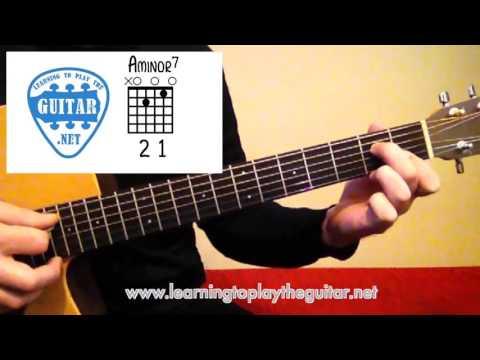 Open String Minor Guitar Chord Variations