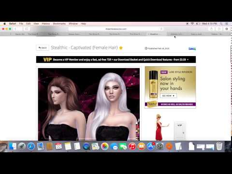 How To Download Sims 4 CC (Custom Content) On Mac