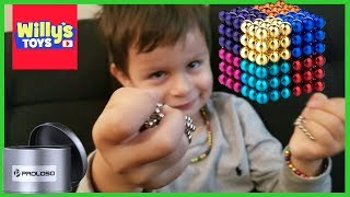 PROLOSO Buckyballs Magnetic Ball Sculpture Toys Stress Relief - Willy