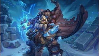 Hearthstone.Evolve shaman Grumble. Kobolds And Catacombs