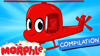 my red helicopter extra morphle kids vehicle episodes my magic pet morphle episode 20