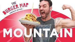 Desafio #35 - The Burger Map Mountain [+Reportagem TV Record]