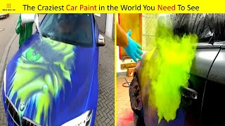 CAR PAINTING IDEAS THAT ARE ON ANOTHER LEVEL ▶2