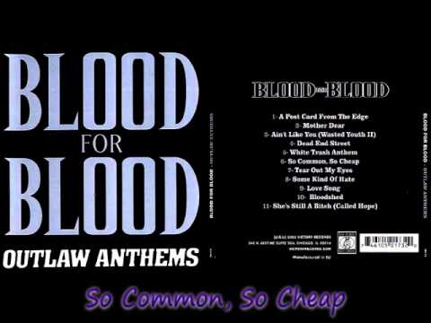 Blood For Blood - Outlaw Anthems [ FULL ALBUM ]