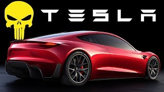 Бензин В Прошлом! Как Tesla Уничтожает Всех Автопроизводителей! Tesla Roadster 2.0 И Тягач Semi.