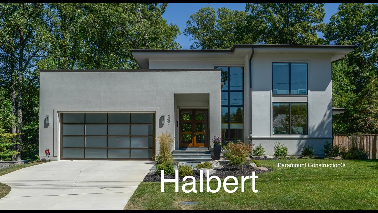 CONTEMPORARY NEW home For Sale Washington DC - YouTube