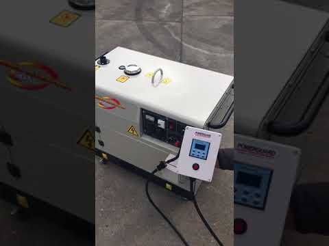 Yanmar EG55  using a POWERGUARD ACP300 Automatic Controller for Solar and Renewable Backup power
