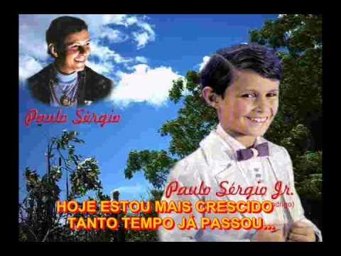 PAULO SÉRGIO E FILHO RODRIGO-QUERO VER VOCÊ FELIZ-KARAOKE