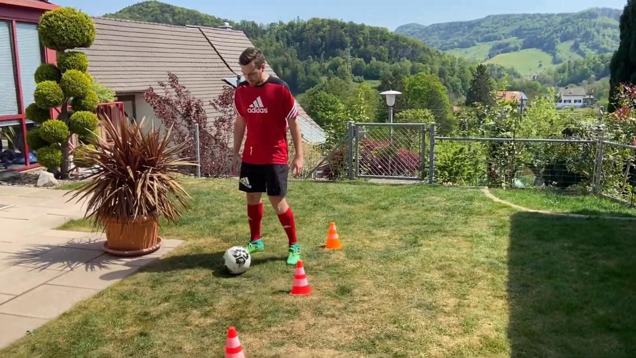 Fussballtraining für zu Hause