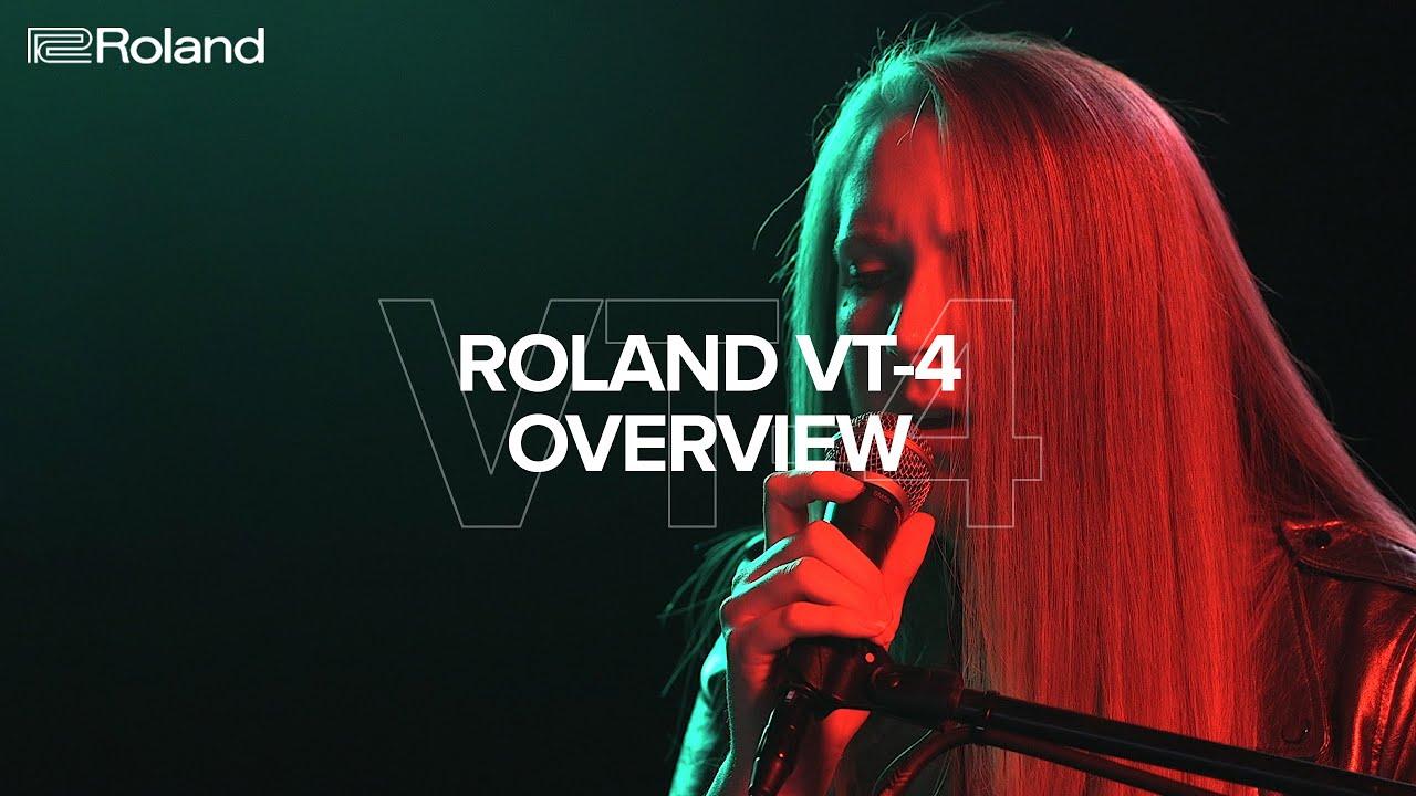 VT-4 Voice Transformer - Overview - Roland Korea 2018-10-16 10:22