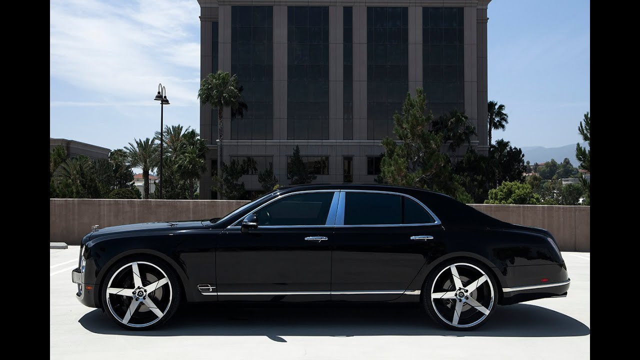 Bentley Mulsanne On 24 Quot Invictus Z Lexani Wheels Youtube