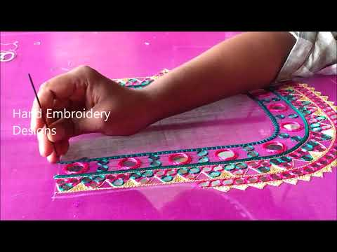Latest Blouse Designs 2019 Hand Embroidery Designs Simple Maggam Work Blouse Designs Youtube,Traditional Japanese House Design Pictures