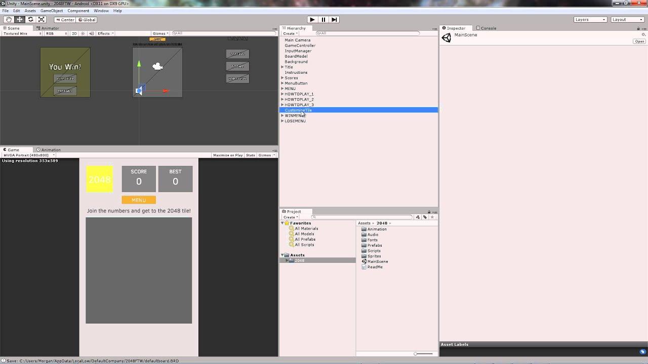 8cb193bca02 Unity game template youtube jpg 1280x720 100x100 2048