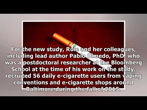 France News - Study: lead and other toxic metals found in e-cigarette 'vapors'