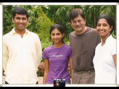 Ananth Nag and family photos with friends and relatives