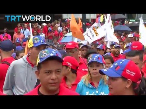 Venezuela On the Edge: Thousands march against Trump's comments