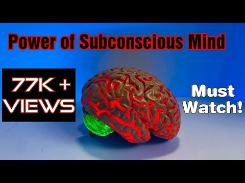 Power of Super conscious mind or infinite intelligence - must watch ! Great stuff