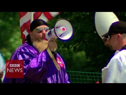 Is the KKK movement still alive in the US? - BBC News