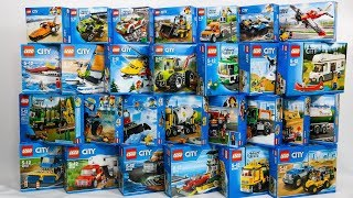 50 SETS COMPILATION LEGO CITY GREAT VEHICLES