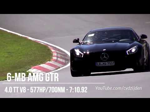 Fastest Cars Around the Nurburgring 2018